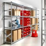 Short Span Shelving Extension Bays with Starter Bay