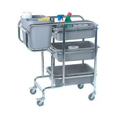 Janitors Cleaners Trolley