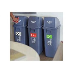Recycling Bins - Set of 3