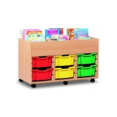 Monarch Book Storage Unit with Kinderbox & Trays