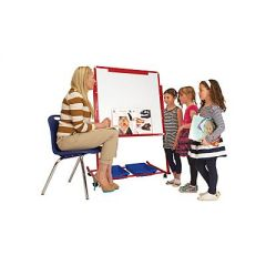 Mobile Magnetic Display/Storage Easel