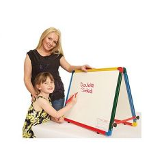 Double Sided Desktop Easel - Rainbow Framed