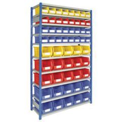 Container Rack with Containers