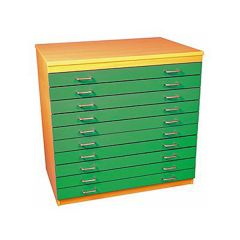 A1 Paper Storage Unit / A1 Plan Chest (10 Drawers)