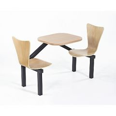 Wooden Canteen Seating