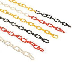 6mm Thick Plastic Chain - Indoor and Outdoor Use