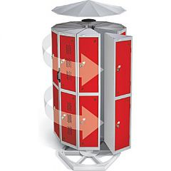Sloping Tops - For Round Pod Lockers