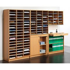 Wooden Mailroom Sorting Systems