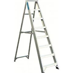 Aluminium Trade Stepladders Ladders EN-131 & BS2037 Class 1