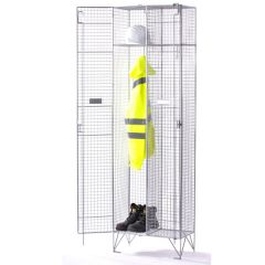 TUFF Wire Mesh Lockers