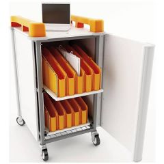 LapCabby Vertical Netbook Storage Trolley