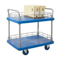 Platform Trucks and Trolleys with Polypropylene Shelves