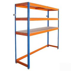 Garage Space Saving Shelving Rack