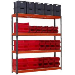 TUFF Shelving and Mixed Storage Kit 4