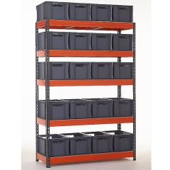 TUFF Shelving Kit with Euro Containers