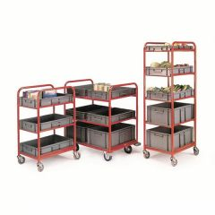 Container Trolleys 3 or 5 Shelf