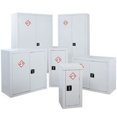 Complete range of Acid & Alkali Chemical Storage Cabinets