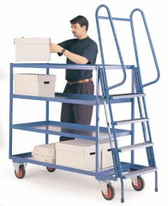 400 kgs Heavy Duty Order Picking Trolley