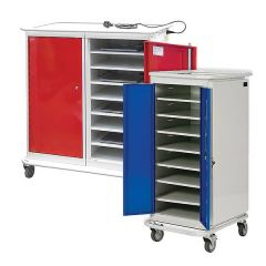 Laptop Charge and Store Trolleys