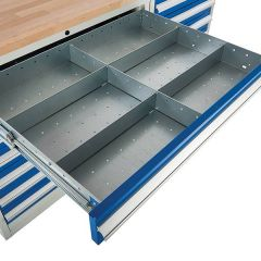 900 Cabinet Drawer Inserts - 6 Compartments