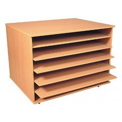 A1 Plan Chest with 5 shelves