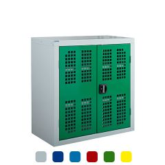 Armour 900H Perforated Door Storage Cupboards