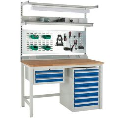 Euroslide Heavy Duty Bench Kit - Beech Top