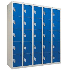 Tool and Battery Charging Lockers with Solid Doors
