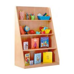 Bookcase with 4 Fixed Straight Shelves