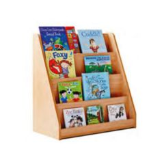 Bookcase with 4 Tiered Fixed Shelves