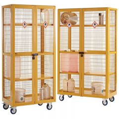 Hazardous Boxwell Mobile Storage Cages