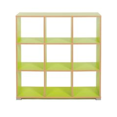 Bubblegum 9 Cube Backless Classroom Divider