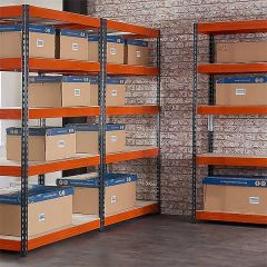 TUFF Shelving 200KG 450mm Deep 3 Bay Bundle Deal