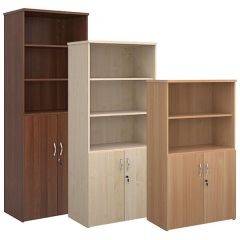 Wooden Combination Unit with open top - 24 Hour Delivery