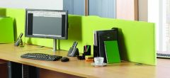 Straight Desk Mounted Screens - 24 Hour Delivery
