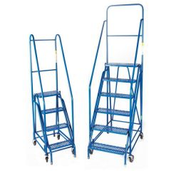 Value Duplex Weight Reactive Mobile Steps - Steel Treads