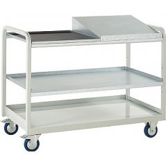 Euroslide Trolley with Tool Tray & Sloping Top