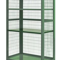Boxwell Mobile Storage Cages - Extra Shelves