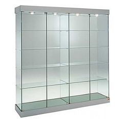 Extra Wide Glass Display Cabinets