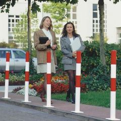 Galvanised Barrier Posts Surface Fixing