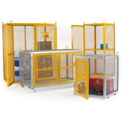 Cylinder Storage Security Cages