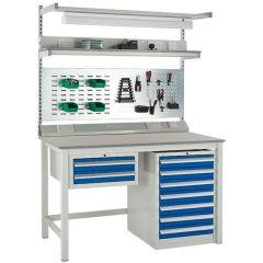 Euroslide Heavy Duty Workbench Kit - Laminate Top