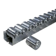 Heavy Duty Roller Tracks with Steel Rollers