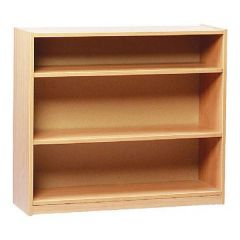 750mm High Open Bookcase with 2 x Adjustable Shelves