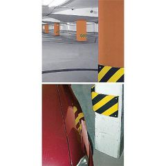 Impact Protection Hazard Strips for Columns