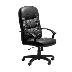 King Managers High Back Leather Chair - 24 Hour Delivery