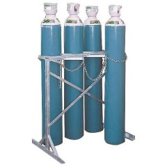 Large Freestanding Cylinder Storage Stands