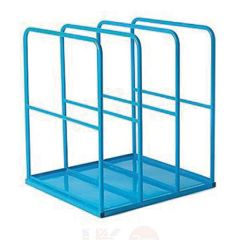 Large Vertical Sheet Rack with Solid Base