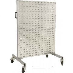 Louvred Panel Double Sided Trolley
