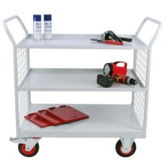Maintenance Trolleys with Mesh Ends
